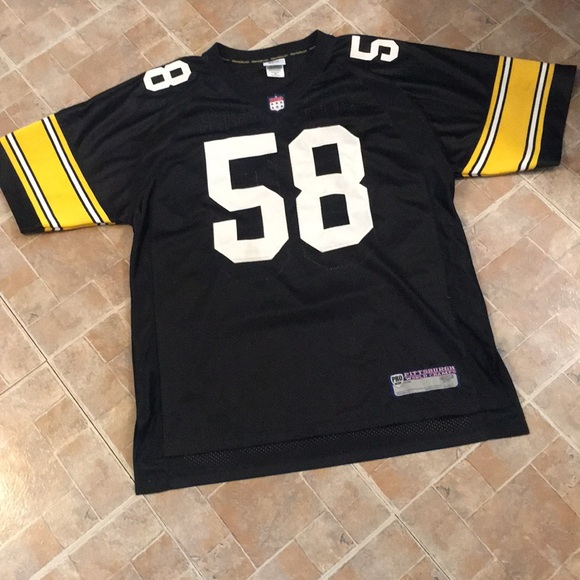 newest ce591 c6ab3 NFL Steelers Lambert jersey size men's XXLARGE